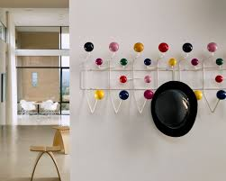 fascinating rustic coat hooks wall mounted offer tidy look for you interior white steel with colorful