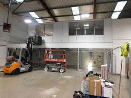 storage office space. Installation Of The Offices On New Mezzanine Floor Storage Office Space E