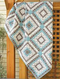 29 best Log Cabin Quilting images on Pinterest | Log houses, Quilt ... & Melbourne Shuffle Quilt - Fons & Porter Adamdwight.com