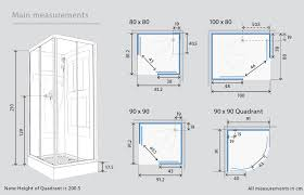 shower cubicles plan. Bathroom Remodeling Shower Cubicles Plan H