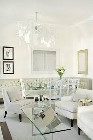 dining room bench seating: tufted dining bench view full size