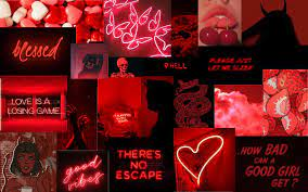 Red Aesthetic Wallpaper