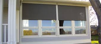 exterior window solar shades