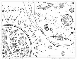 Small Picture Ship Ufo Alien In Spacecraft For Kids Free Ufo Spaceship Coloring