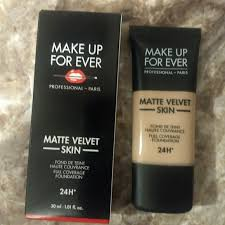 makeup forever velvet matte foundation nib