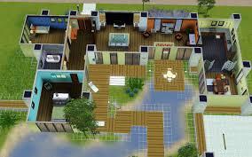 sims 4 modern mansion floor plans