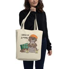 Jammin Jammies Size Chart I Otter Be Sleeping Eco Tote Bag