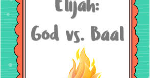 Get our chrome extension for color inspiration in every new tab. Bible Fun For Kids Elijah God Vs Baal