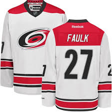 Hurricanes Carolina Jersey Faulk Justin