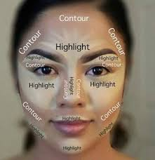 before you start with the contour apply your base primer foundation cc cream concealer wver you usually do there