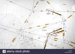 Aeronautical Chart Symbols Aeronautical Chart Map Showing Symbols Of Waypoints And