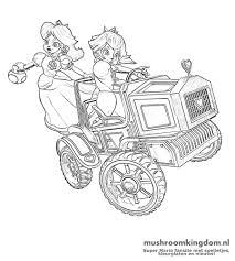 Mario Kart Kleurplaat Kleurplaatploofr