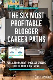 best ideas about career path resume job search the 6 most profitable blogger career paths and how to get started in one by regina