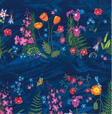 alaskan wildflowers stripe y1892 93