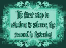Image result for listening and silence