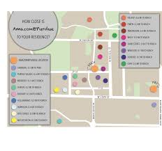 How Close Is Amazon To Your Dorm Campus Purdueexponentorg