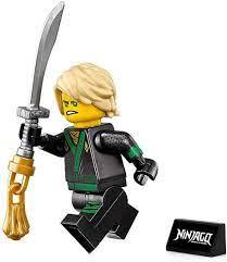 Buy LEGO The Ninjago Movie Minifigure - Lloyd Green Ninja (with Hair,  Sword, and Display Stand) 70617 Online in Vietnam. B07S4BK8TZ