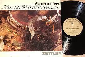 Bauernmesse, Mozart, Kronungsmesse - MOZART: Kronungsmesse, Bauernmesse -  Zettler Group; German Import Vinyl LP - Amazon.com Music