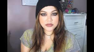 90 s street style grunge makeup tutorial
