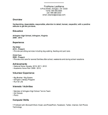 College Application Resume Examples Inspiration High School Sample Resume Fullofhell