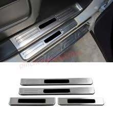 2018 nissan y62. beautiful nissan 4pcs outer car door scuff protection plate trim for nissan patrol y62 2012 2018 in nissan y62
