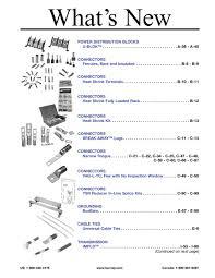 Burndy C Crimp Chart 2010 Master Catalog By Burndy
