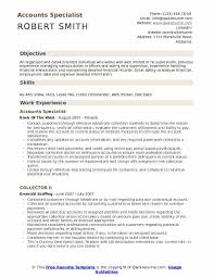 Accounting Specialist Resume Amazing Accounts Specialist Resume Samples QwikResume