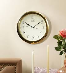 office wall clocks. Clocks, Office Wall Clock Clocks Amazon Gold Frame Of Hanging Above Brown
