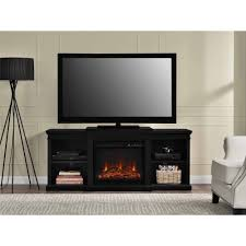 manchester fireplace tv console for tvs up to  black  walmartcom