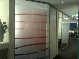 computer cut frosted for office partition