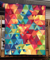20 best Tessellation Quilt images on Pinterest | Mirrors, Fused ... & Tessellation - made of shot cottons and quilted with Aurifil thread by  Susan Strong. Pattern · Modern Quilt PatternsPatchwork PatternsModern ... Adamdwight.com