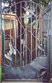 Small Picture 135 best gates images on Pinterest Metal gates Garden gate and