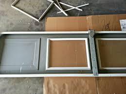 replace garage door glass