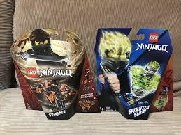 Retired New LEGO Ninjago: Spinjitzu Slam Jay (70682)& Spinjitzu Cole  (70662)