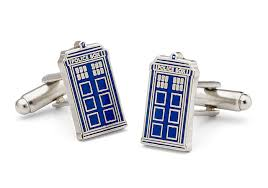 doctor who cuff link tardis geeky gifts for the groomsmen