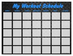 blank work schedule print out a workout calendar print a workout calendar