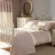 pink bed linen pink and silver bedroom