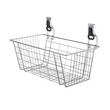 rubbermaid fasttrack garage 24 in mesh basket