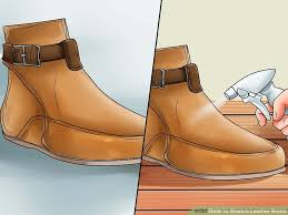 image titled stretch leather boots step 15