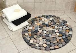 bathroom rugats diffe colored pebbles round bath rug white bathroom rugs mats