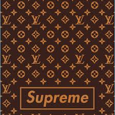 LV Pattern Mobile Wallpaper Supreme ...