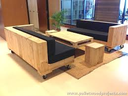 Design Ideas Furniture Made with Reused Wood Pallets Of Wood Pallet  Furniture