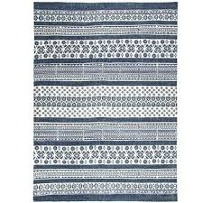 blue white rug and striped rugs uk