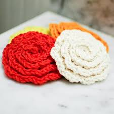 Free Crochet Patterns For Scrubbies Enchanting Crochet Flower Cleansing Pads Pattern