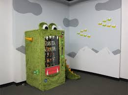 How To Design A Vending Machine Inspiration Goodie Monster Snack Machine Walyou