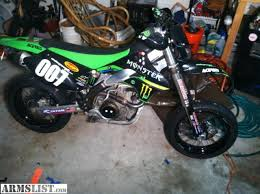 armslist for sale 08 klx450r supermoto street legal