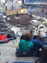 U2 Seattle Seating Chart Centurylink Field Section 326 Row M Seat 21 U2 Tour The
