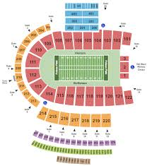 Folsom Field Seating Chart With Row And Seat Numbers Folsom Field Seating Chart Boulder