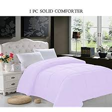 solid color comforter. Unique Solid Super Soft Goose Down 1pc SOLID Alternative Comforter  All Sizes And Many  Colors Available  QUEEN Lilac And Solid Color U