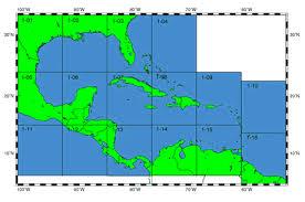 Ioc Iho International Bathymetric Chart Of The Caribbean Sea